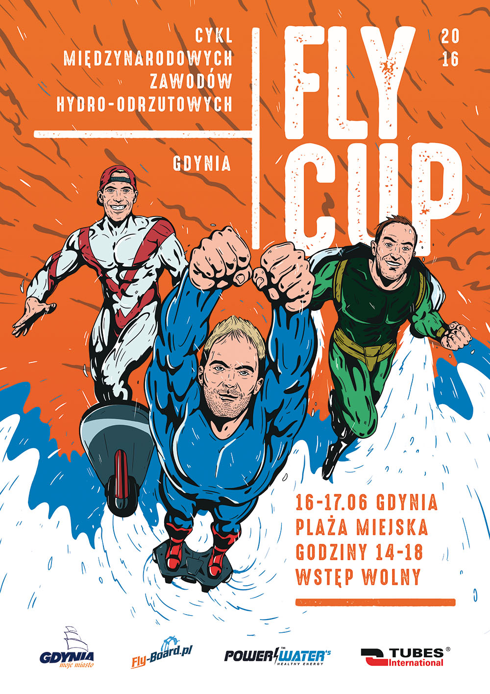 Plakat Gdynia FLYCUP