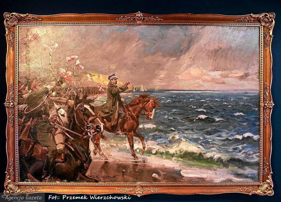 z17388187V,Uroczysta-ekspozycja-obrazu-Wojciecha-Kossaka--Zas